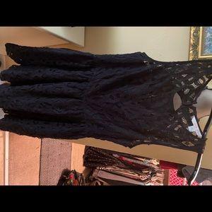 Lauren Conrad black Lace dress